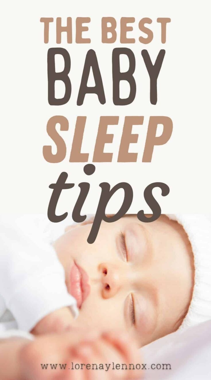 In this post, I want to share five of the best baby sleep tips that helped my colicky baby start sleeping through the night.