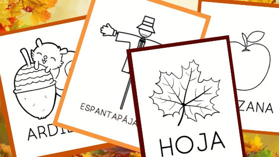 Seasonal Printables in Spanish