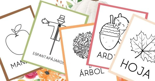 Free Fall Printables in Spanish