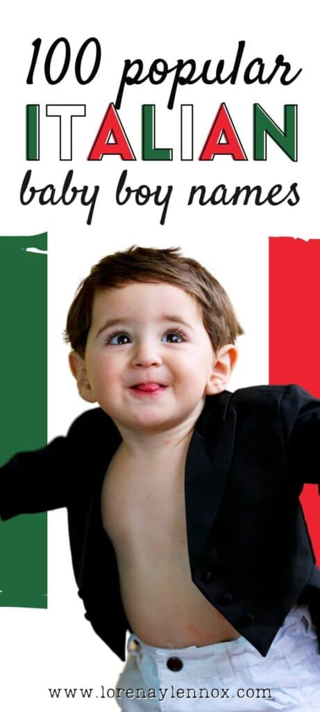 100+ Unique Italian Baby Boy Names to Use in 2021