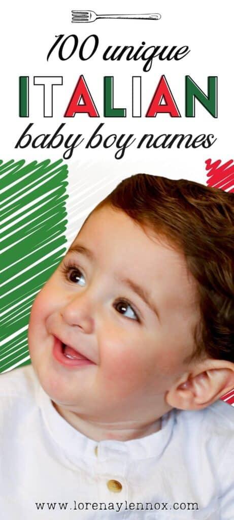 100 Unique Italian Baby Boy Names