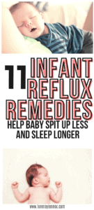 Infant Reflux Home Remedies