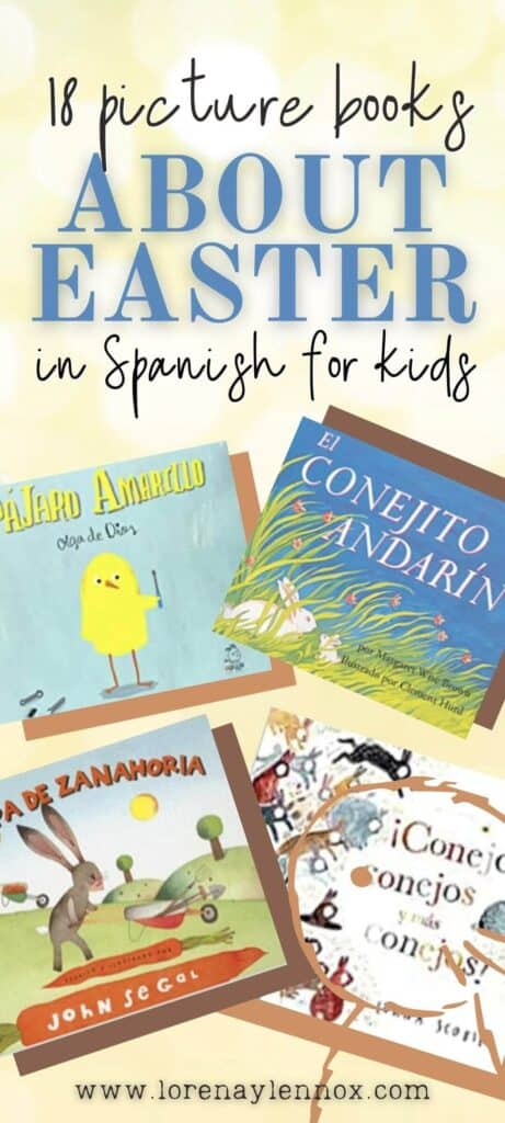 Easter Picture Books in Spanish for Kids