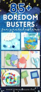 85 + Boredom Busters for Toddlers and Preschoolers That You Can Do Right From Home #activitiesfortoddlers #activitiesforpreschoolers #finemotoractivities #grossmotoractivities #sensoryactivities #athomeactivitiesfortoddlers #learningactivitiesforpreschoolers #toddlersensoryactivities