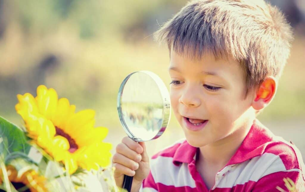Outdoor language learning ideas