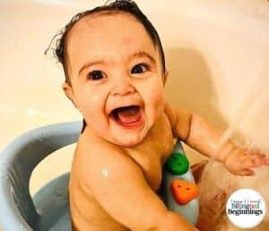 How to Bathe Baby