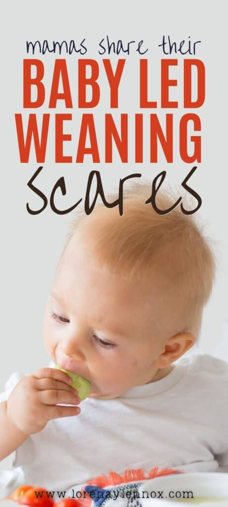 Baby led weaning might seem scary to do for the first time mom. In this post, moms will share some of their baby led weaning scares.