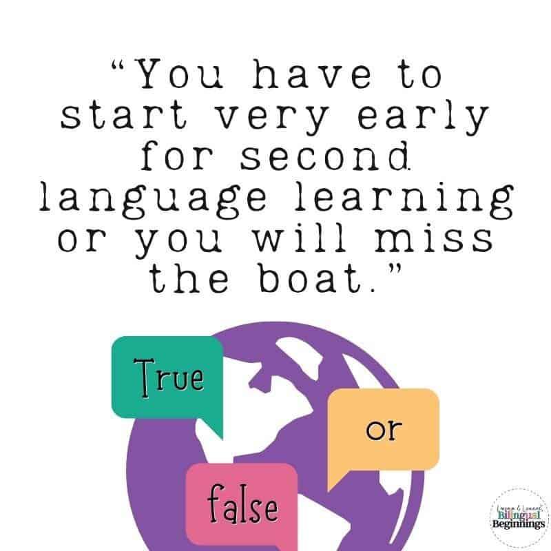 Myths about bilingual parenting