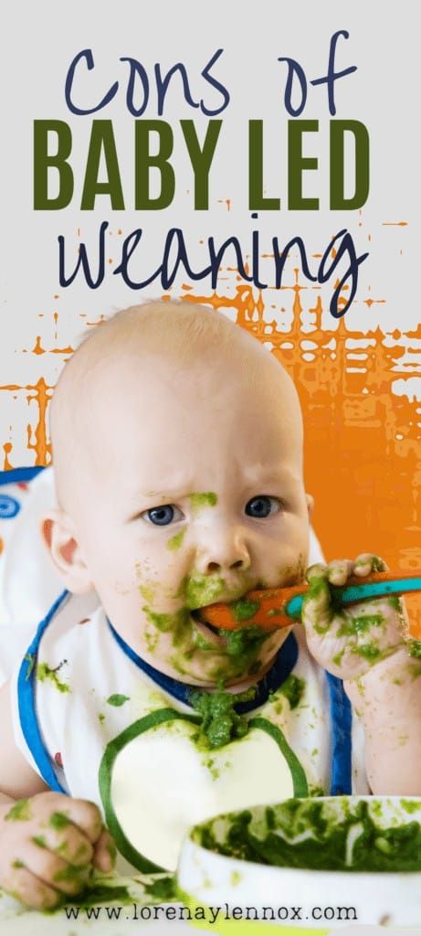 In this post I want to go into the pros and cons of baby led weaning
