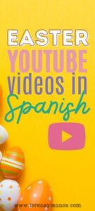 Inside: 12 Easter YouTube Videos in Spanish to teach your children or students about the Easter holiday!