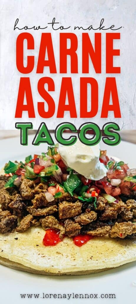 Instructions on making the most mouth-watering, delicious, Salvadoran-style Carne Asada Tacos. The perfect recipe for summer, or any season!