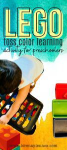 Lego Color Learning Activity