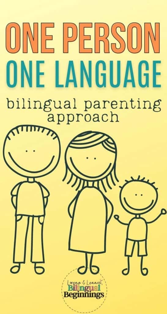 One Person One Language Bilingual Parenting Approach