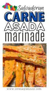 Homemade Carne Asada Marinade