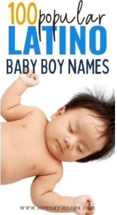 100 Popular Latino Baby Boy Names