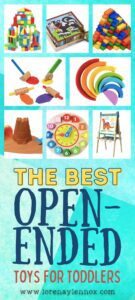Open-ended toys for preschoolers