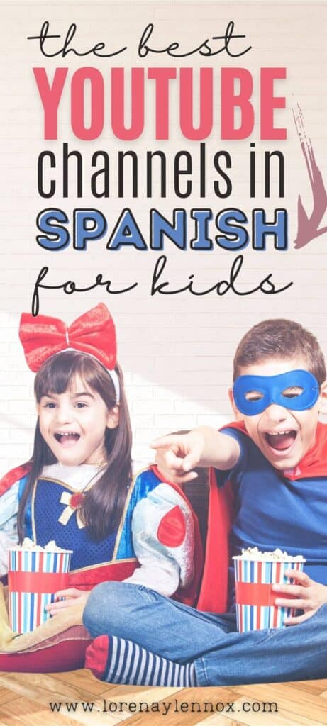 YouTube Channels in Spanish for Kids