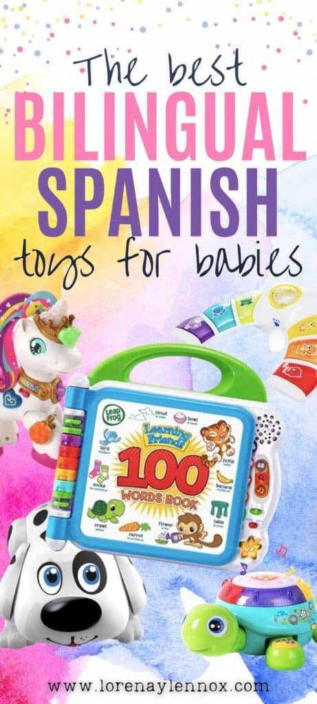 Bilingual toys in Spanish