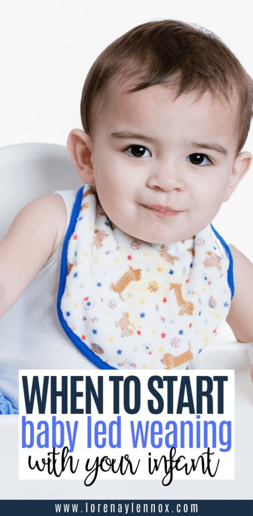 In this post I will go into when to start baby led weaning with you baby and signs that your baby is ready to start baby led weaning.