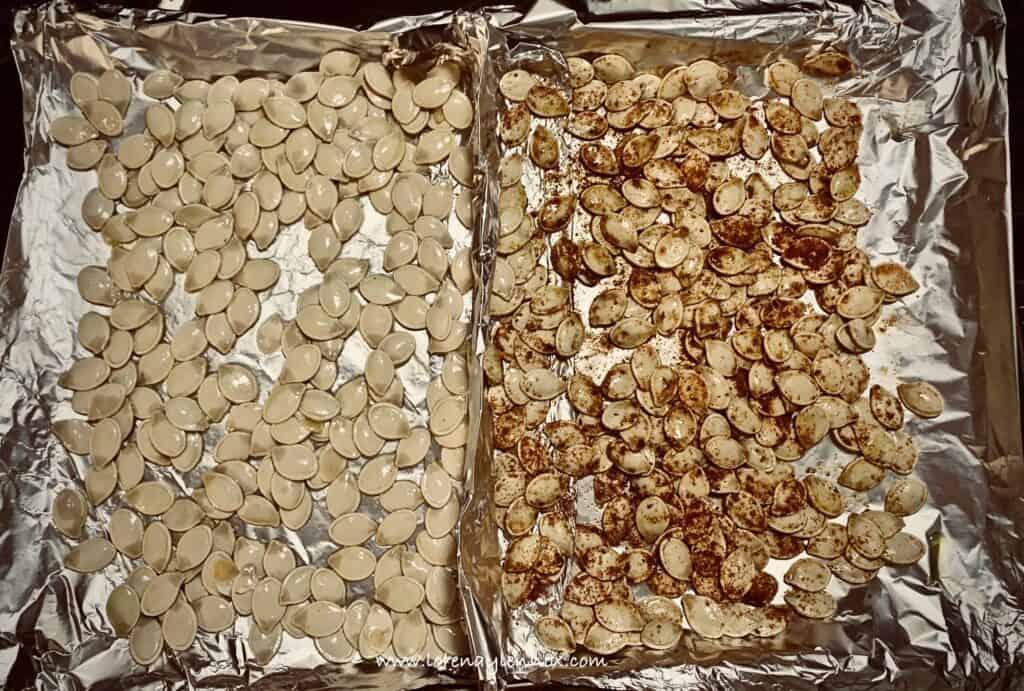 Two Homemade Roasted Pumpkin Seed Recipes