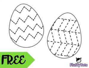 """3. Easter Egg Pattern Activity - with FluffyTots""""If you are looking for a fun way to introduce pattern to your toddlers, let's hop in and try out Easter Eggs Pattern Activity."""""""
