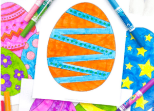 """4. Free Printable Easter Egg Coloring Pages For Kids - with Simple Everyday Mom""""This Easter season use these free Easter egg coloring pages to entertain the kids and encourage creativity."""