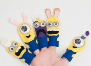 Super Silly Minion Finger Puppets - By Sustain My Craft Habit