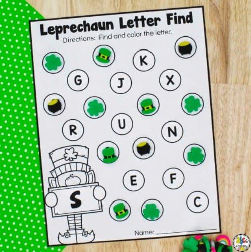 Leprechaun Letter Find