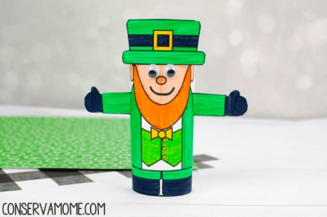 """15. Leprechaun Toilet Paper Roll Craft - with Conservamom""""Check out this fun Leprechaun Toilet paper roll craft that's simply magical."""""""