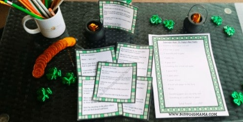 """17. St. Patrick's Day Activities and Crafts for Young Kids - With: Budding Mama""""This year you can celebrate at home with your little ones with these fun and easy St. Patrick's Day activities."""""""