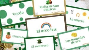 St. Patrick's Day Printables in Spanish
