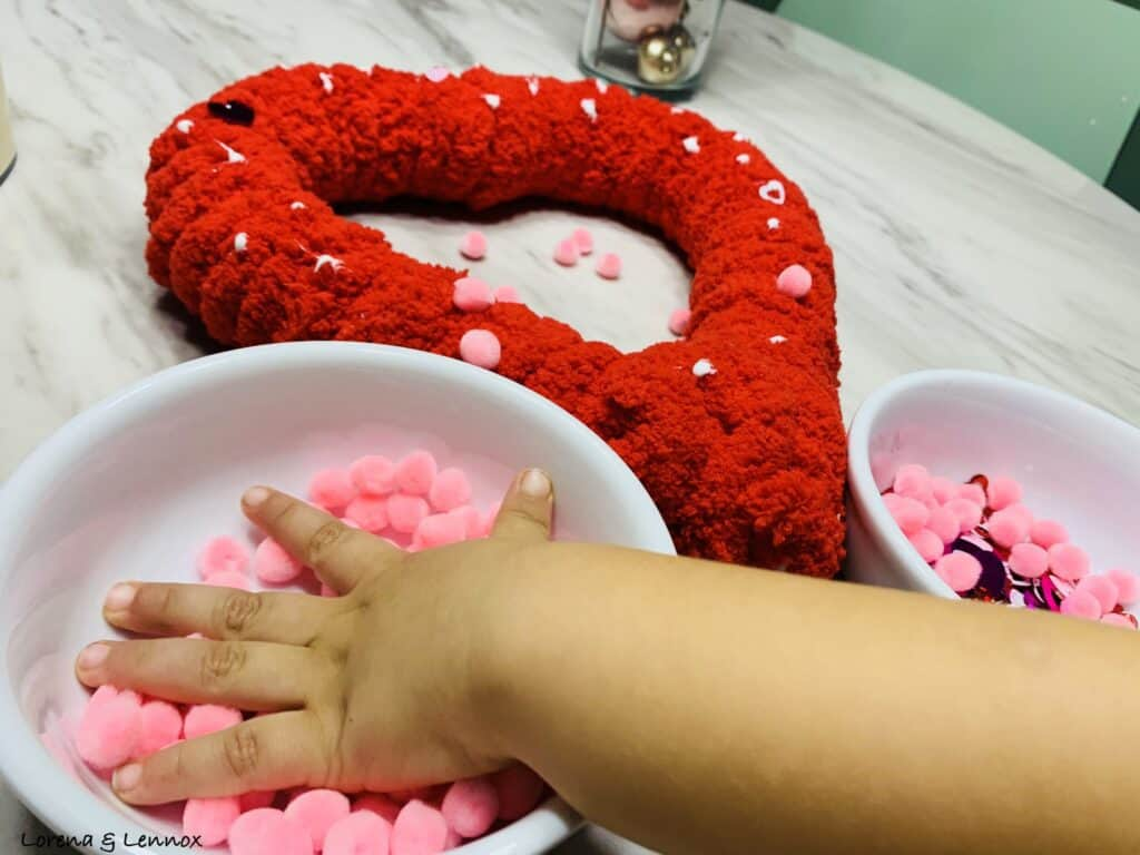 Heart Wreath Valentine's Day