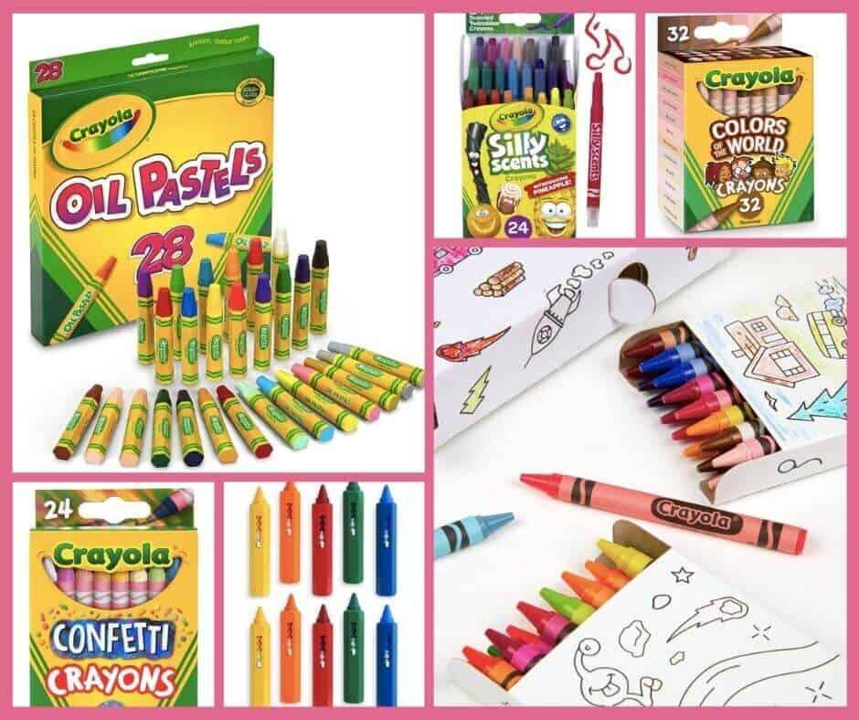 A list of art supplies for preschoolers