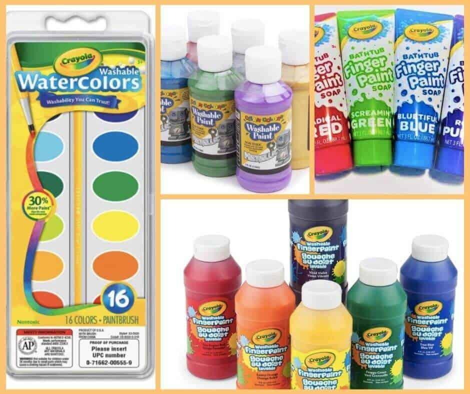 List of Art Supplies for Preschoolers