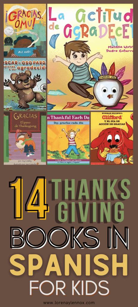 14 Thanksgiving Books in Spanish for Children