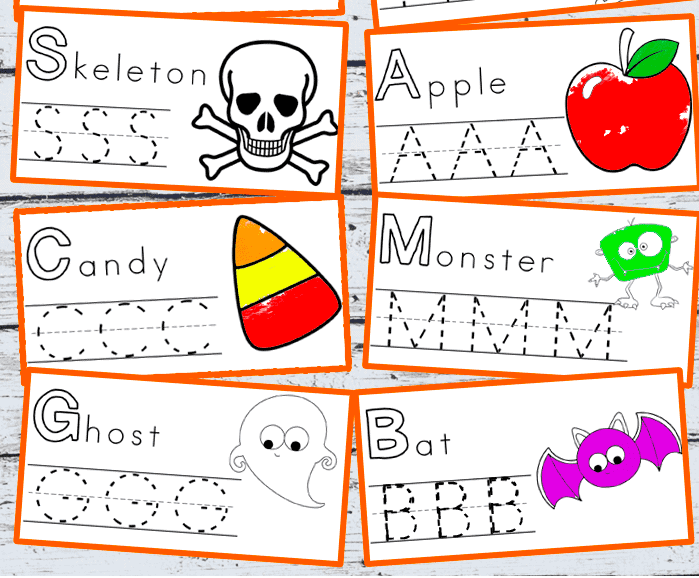 Halloween Printables for preschoolers