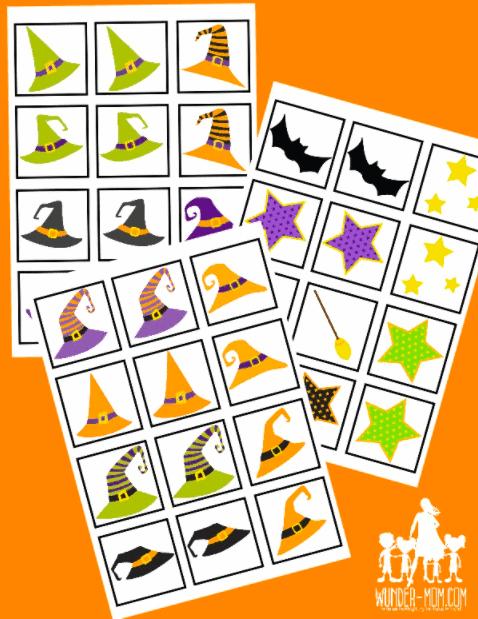 Halloween Printables Preschoolers