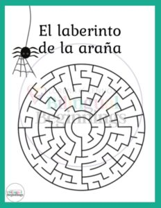 Free letter a printables in Spanish