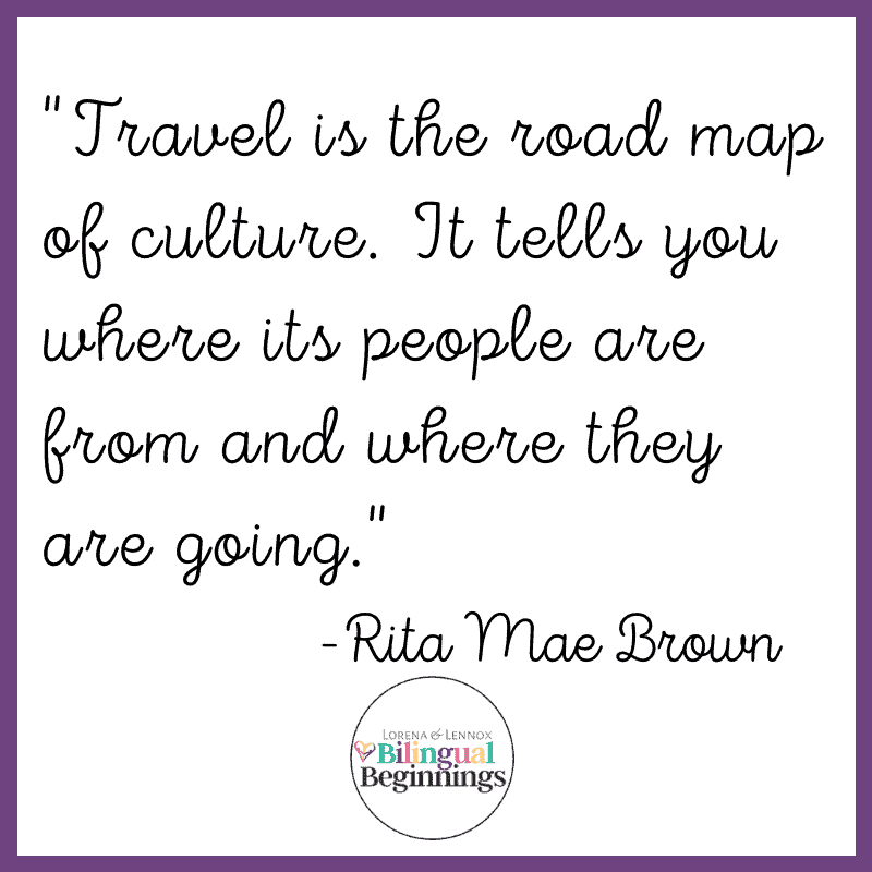 """""""Travel is the road map of culture. It tells you where its people are from and where they are going."""" - Rita Mae Brown"""