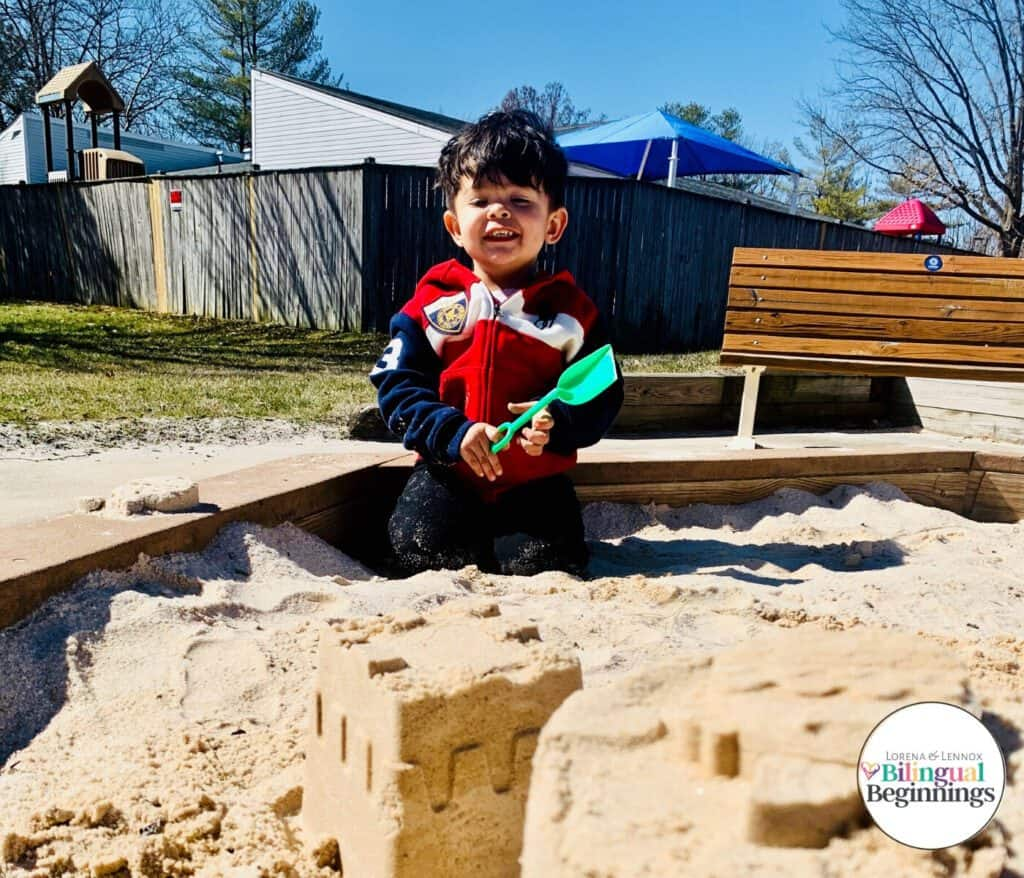 This Is Why We Are Saying Adíos to Toys and Hello to Loose Parts: A Loose Parts Introduction. #loosepartsplay #loosepartspreschoolplay #loosepartstoddlerplay #loosepartsoutdoorplay
