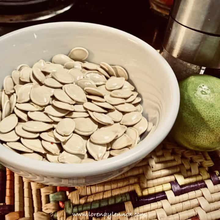 Homemade Pumpkin Seeds Recipe