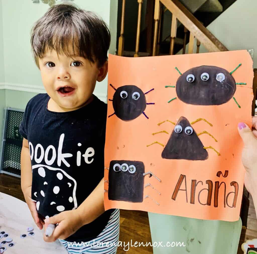 5 Fine Motor Spider Crafts to do with Your Toddler This Halloween