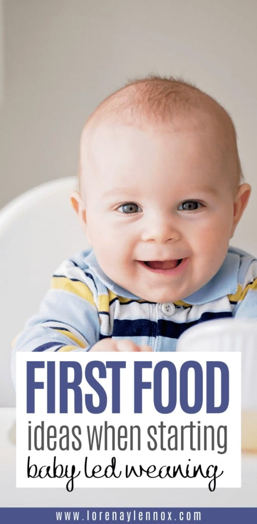 In this post I will go into what baby led weaning is and what are some great baby led weaning first food ideas give to your infant.