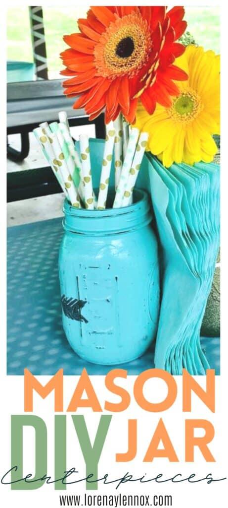 DIY mason jar centerpieces