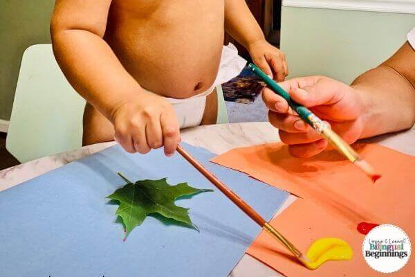 Fall Sensory Activities for Toddlers