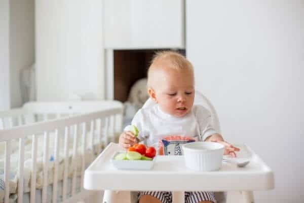 Four Benefits of Baby Led Weaning