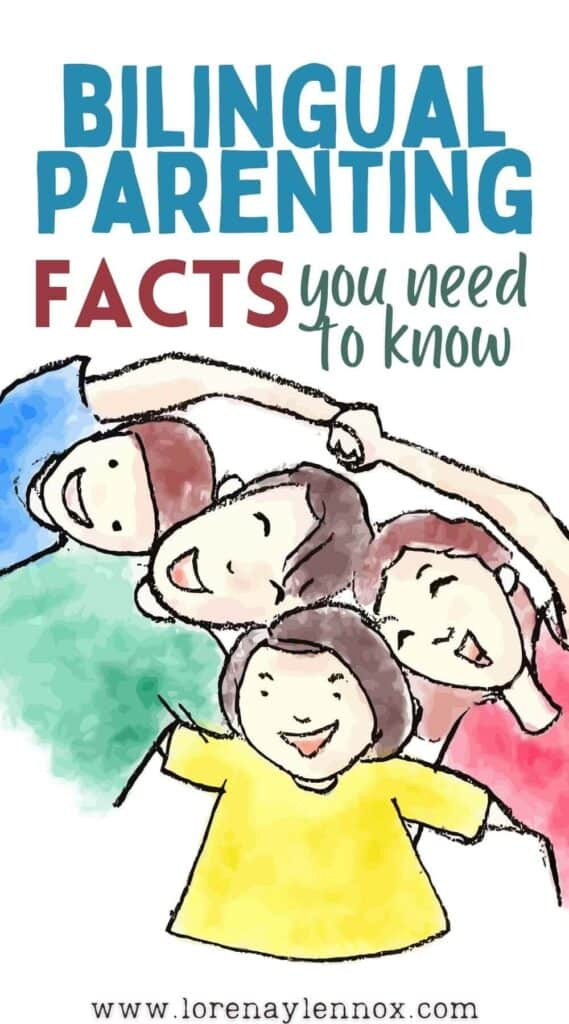Inside: 13 facts that parents who want to raise a bilingual child need to know. You can also find different bilingual parenting approaches.