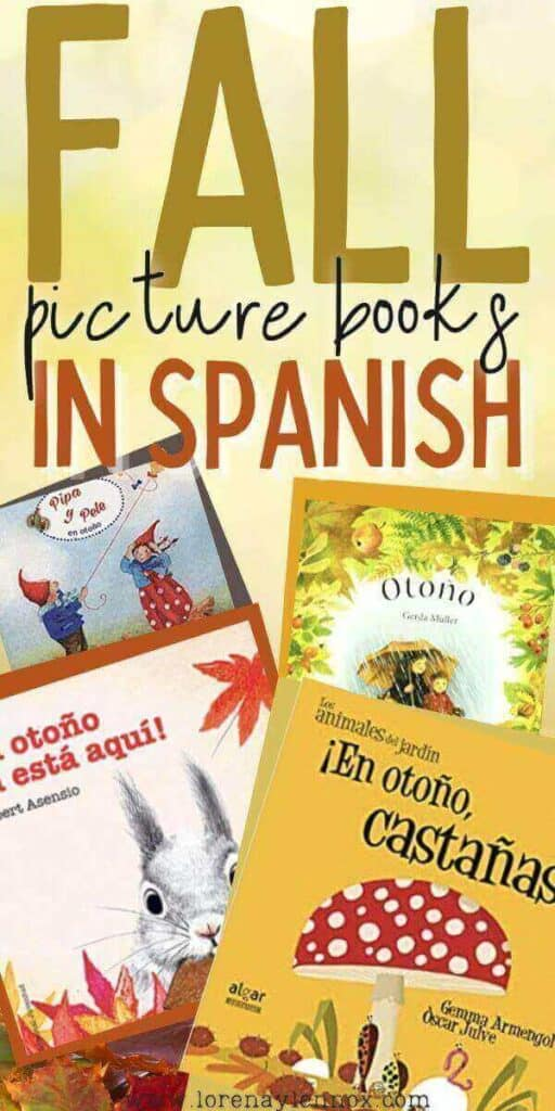 Fall Books in Spanish for Kids