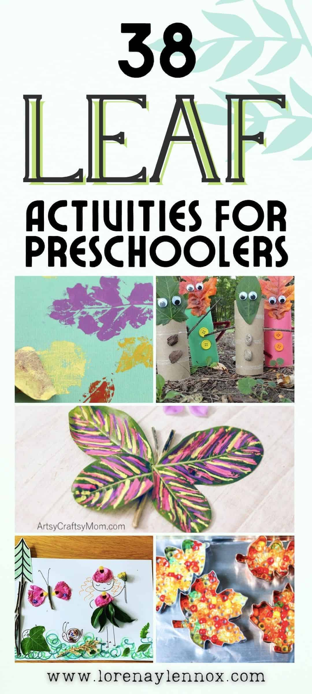 37 fun-filled autumn leaf activities to get your toddlers and preschoolers outdoors this fall!
