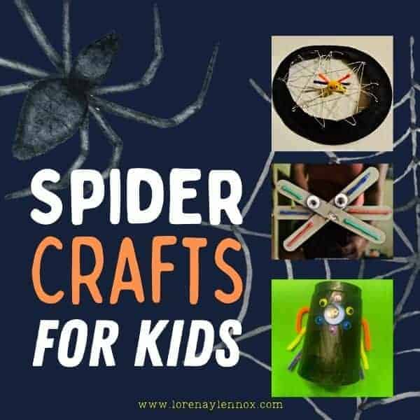 Spider Crafts for Kids